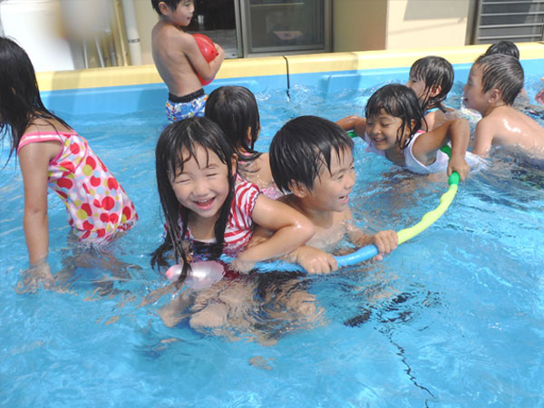 年間行事8月水泳大会